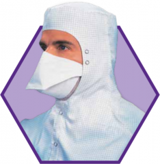 KIMTECH PURE* M3 Face Mask With Two Knitted Headbands - Pouch Style