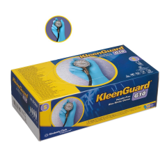 KLEENGUARD* G10 Blue Nitrile Gloves